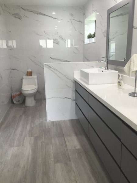 Finding Tile For A Bathroom Remodel With A Masculine Look Tile Outlets Of America