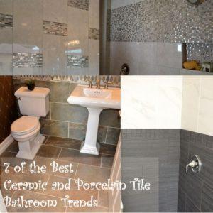 Porcelain Tile Trends For Bathrooms