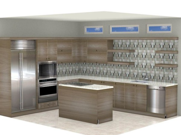 Explore Kitchen Cabinets In Tampa The Lusso Aspen Oak Display Tile Outlets Of America